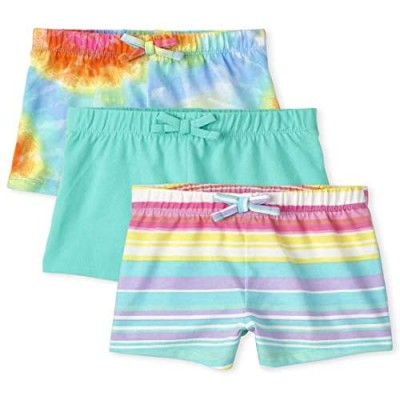 The Children's Place Toddler Girls Print Shorts 3-Pack