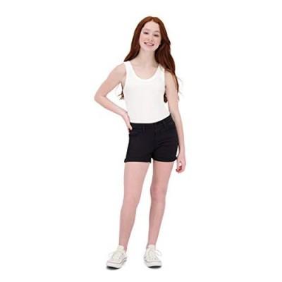 VIGOSS Girls Shorts – Adjustable Waist  Stylish Summer Cotton Spandex Short for Girls  Kids & Teens 4-16 Years